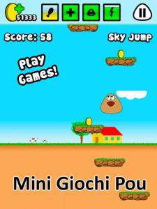 Scopri tutti i Pou mini giochi!